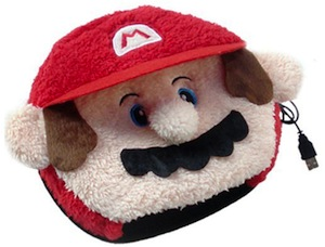 Nintendo Mario heated mouse pad