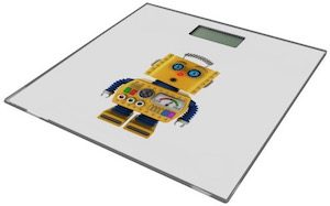 Surprise Robot Bathroom Scale