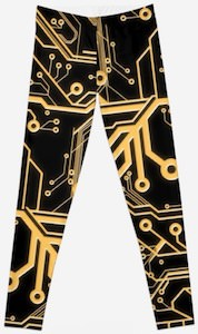 System Board Leggings