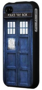 Doctor Who Tardis iPhone 4 / 4S case