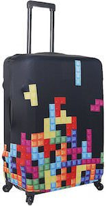 Tetris Suitcase Cover