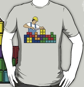 Tetris Brick Layer T-Shirt