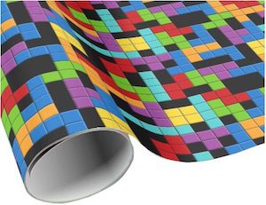 Tetris Wrapping Paper