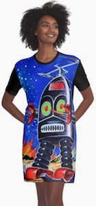 Thunder Robot Women's Dress