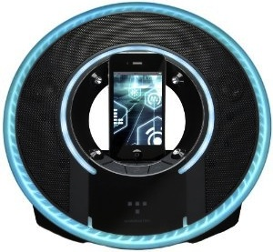 Tron Light Disc iPhone / iPod Touch dock