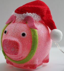USB Powered Christmas Pig Light