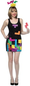Women's Interactive Tetris Costume Dress
