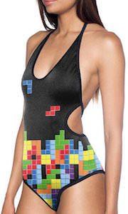 Tetris Women's bathing suit