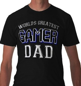 World Greatest Gamer Dad t-shirt