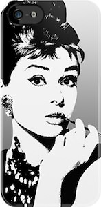 Audrey Hepburn iPhone And iPod Touch Case
