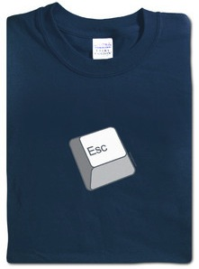Escape key T-shirt Esc