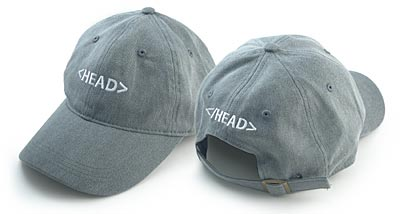 HEAD tag hat