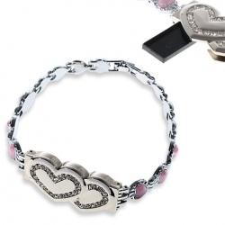 Hearts Bracelet With USB Flash Drive