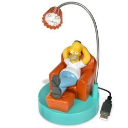 A USB powered Homer SImpson lamp