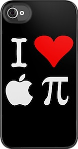 i Love Apple Pie iPhone 4s case and iPod touch case