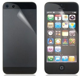 iPhone 5 screen protector set