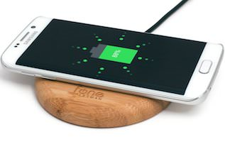 Bamboo Pad Wireless Charger For iPhone