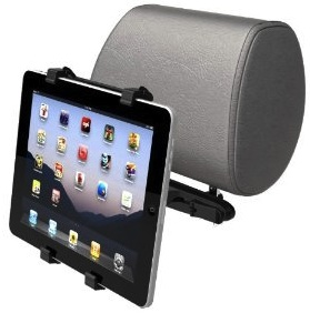 Headrest mount for tablet computer