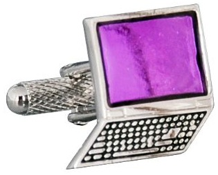 Notebook computer cufflinks