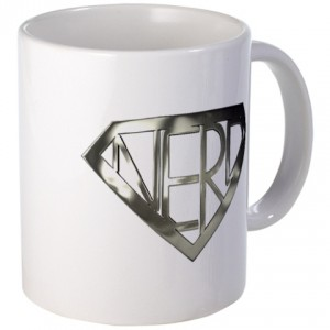 Super nerd coffee mug