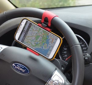 Phone Holder For Your Steering Wheel