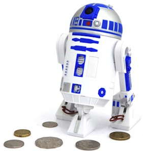 Star Wars R2D2 money Bank