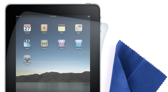 Screen Care Kit for iPad Matte screen protector and cleaning cloth for iPad