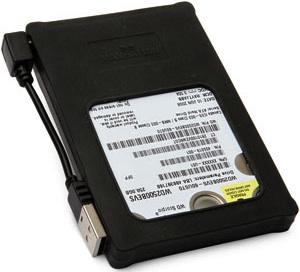 "Sata 2.5"" hard drive enclosure USB made from silicone"