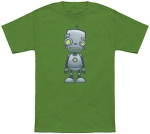 Funny And Silly Robot T-Shirt