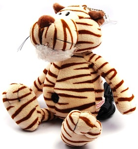 Plush Tiger webcam