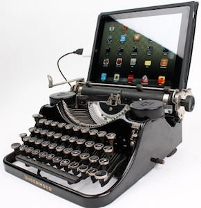 1930's Underwood Typewriter As Keyboard