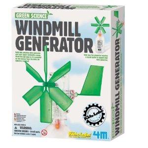 Windmill generator that generates free light