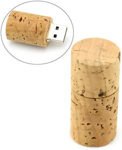 Wine Cork Flash Drive
