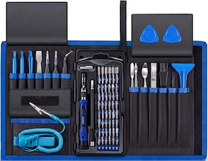 80 Piece Electronics Repair Kit