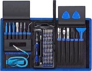80 Piece Electronics Repair Kit