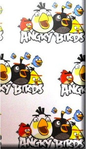 Angry Birds gift wrap