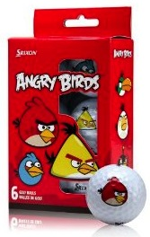 Angry Birds golf balls