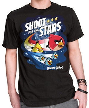 Angry Birds Space T-shirt