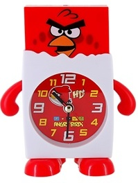 Red Angry Birds alarm clock