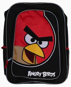 Angry Bird Backpack with Red Bird