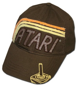 Videogamers love Atari and this Retro cap will be there next favorite