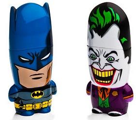 Batman and the Joker Mimobot thumb drives