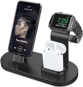 Charging Stand For iPhone, Apple Watch, And AirPods