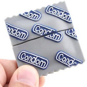 Condom Wrapper USB Flash Drive
