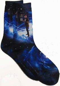 Doctor Who and tardis Socks