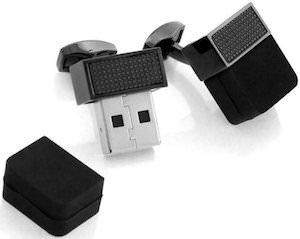 Flash Drive Cufflinks