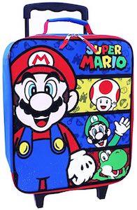 Kids Super Mario Suitcase