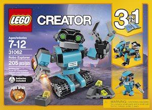 LEGO Robo Creator Set 31062