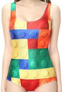 LEGO Blocks Women's Bathing Suit