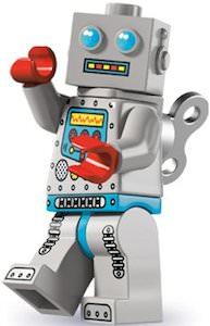 LEGO Clockwork Robot Minifigure